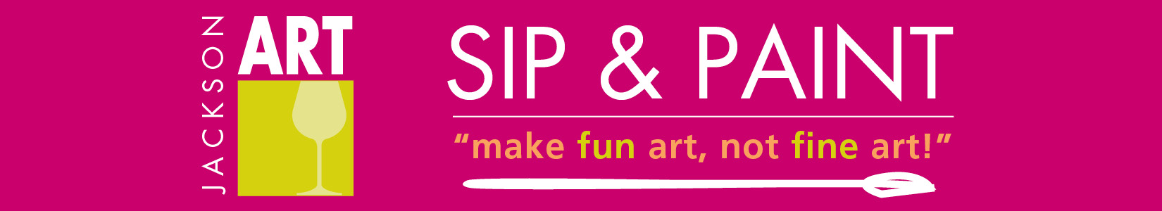 Sip and Paint banner