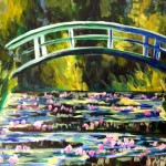 Monet's Bridge over a Pond of Waterlilies/Melanie