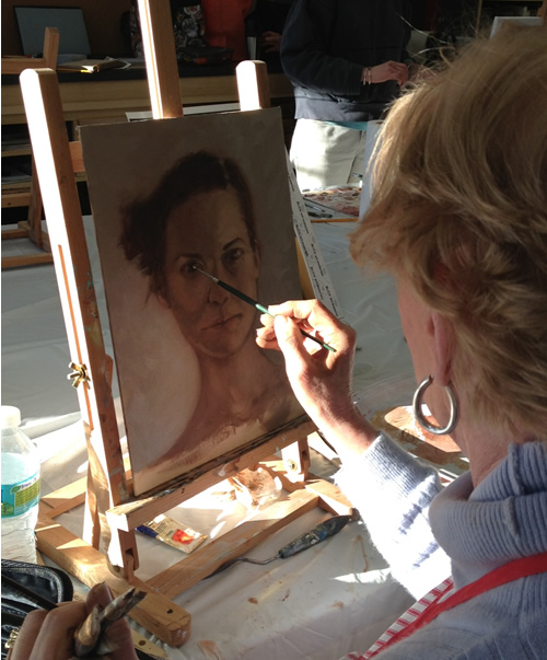 adult painting