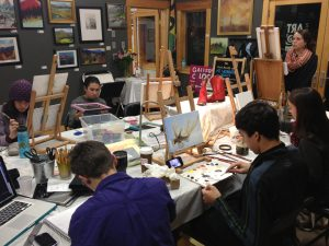 teen open studio