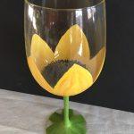 Paint 2 Sunflower Glasses