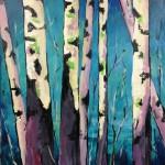 Birches/Melanie