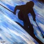 Skier/Melanie
