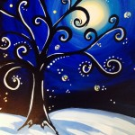 Winter Funky Tree/Melanie