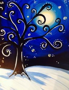 WInter Funky Tree