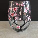 Paint 2 Cherry Blossom Glasses