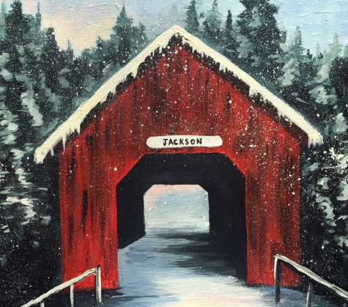 Winter Covered Bridge, Dec 21