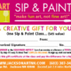 Sip & Paint Gift Certificate
