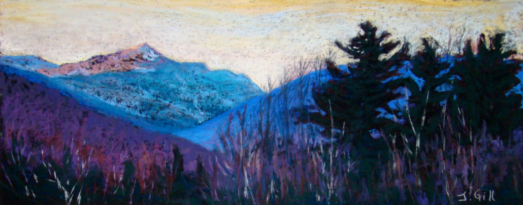 Alpen Glow on Adams / Janet Gill