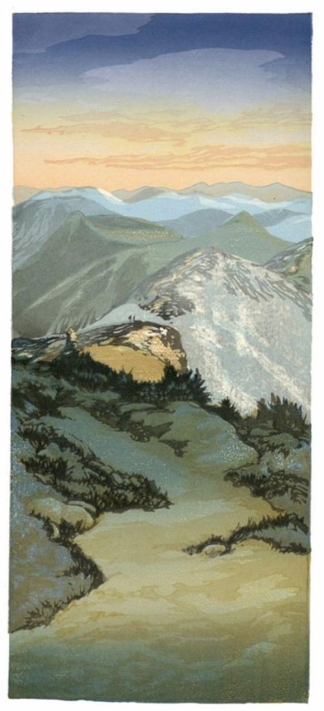 Wood Block Print/ Matt Brown
