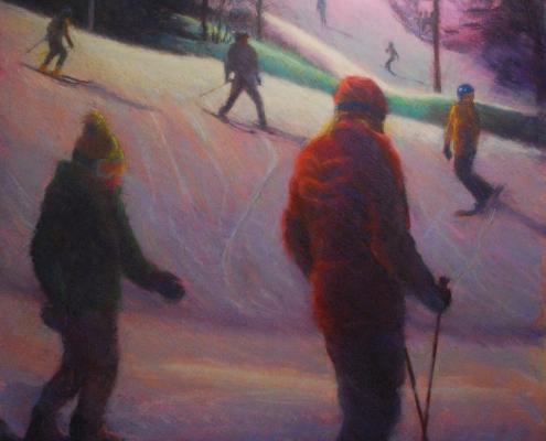 Night Skiing/Terri Brooks