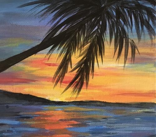 Caribbean Sunset, Feb. 28