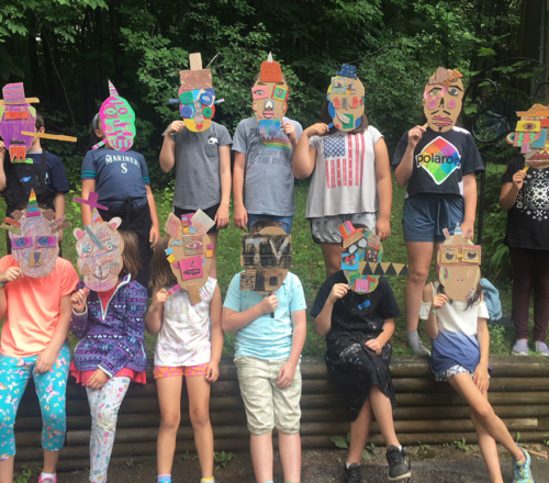 2021 Art Camp for Kids, August 2-6 (outdoors)