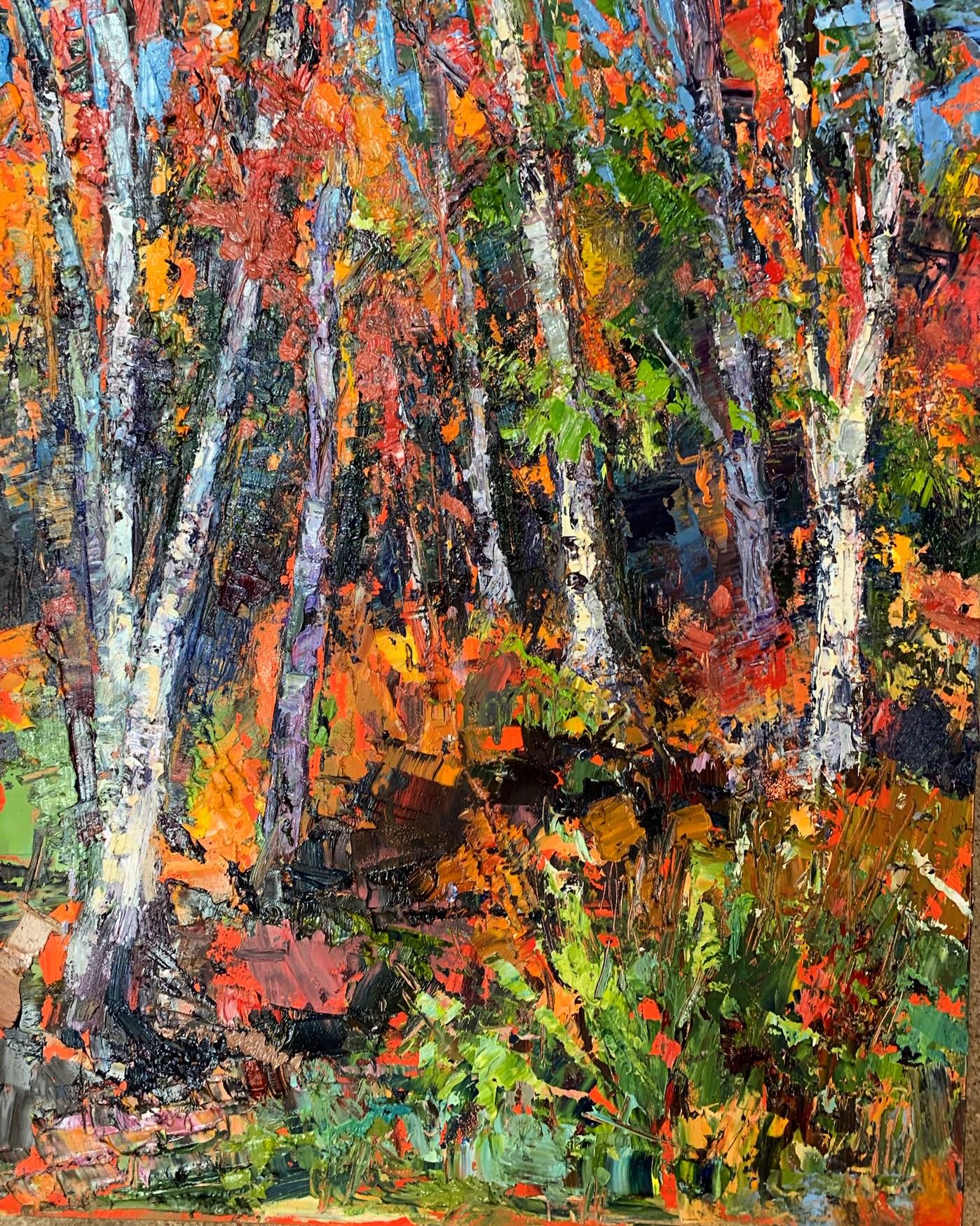 Birches & Foliage