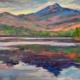 "Chocorua Reflection"" (12""x16"") oil by Melanie Barash Levitt, $760"