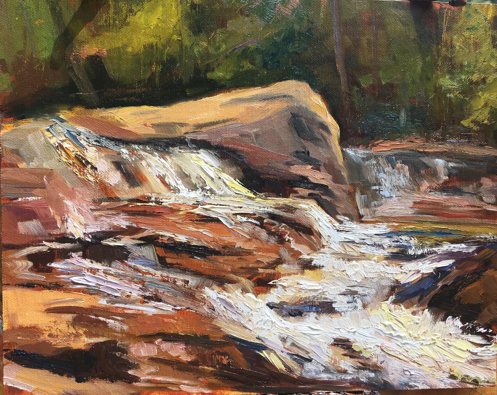 White Water at Jackson Falls