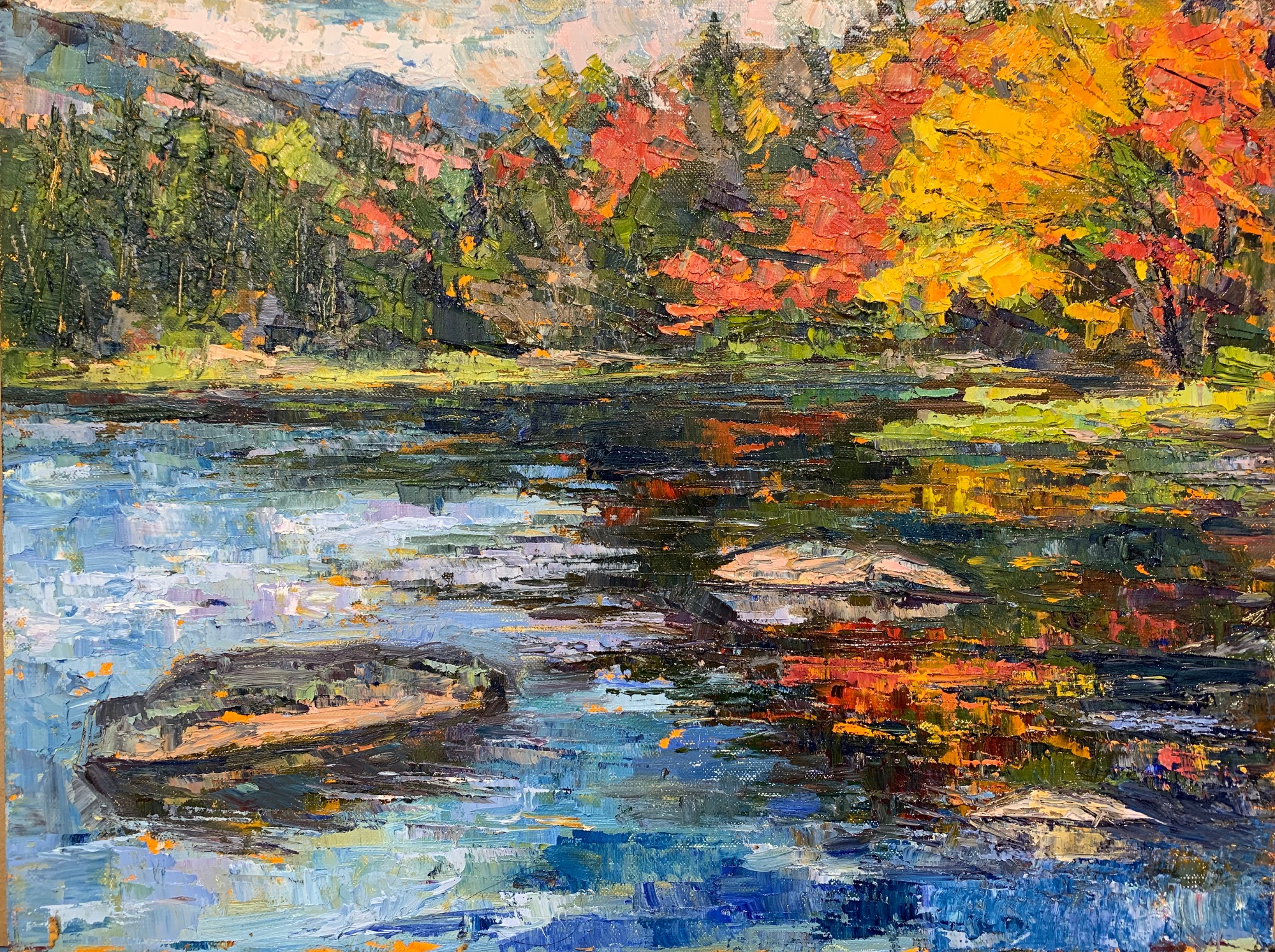 Fall at Lost Pond