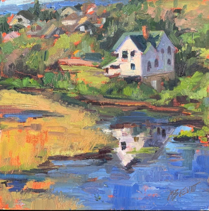 Summer Reflection/Melanie Levitt