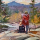 Painter at the Falls - $365