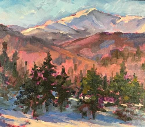 (Workshop) Landscape Painting for the Beginner Via Zoom w/ Melanie Levitt, Jan 13-27