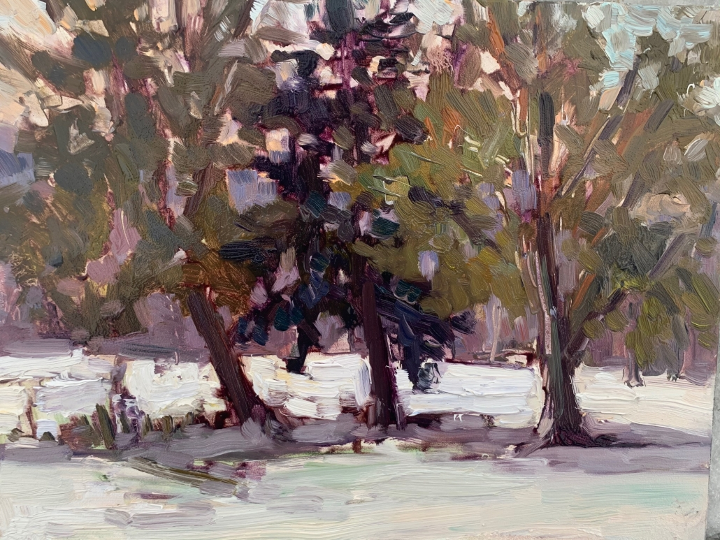 Three Trees/Melanie Levitt