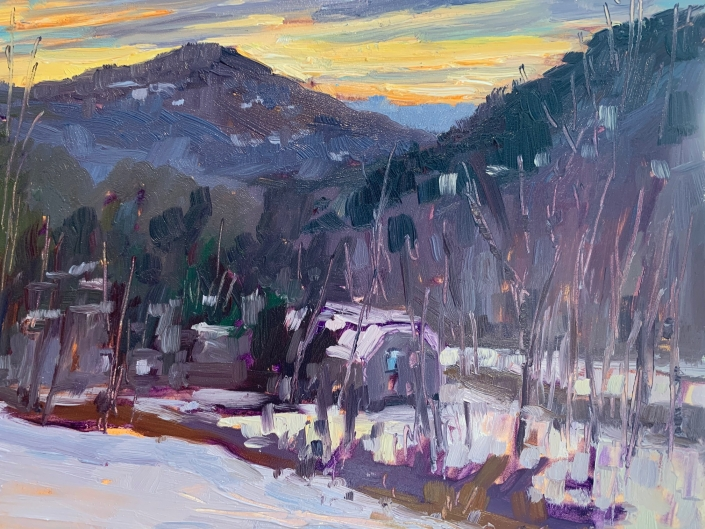 January Sunrise/Melanie Barash Levitt