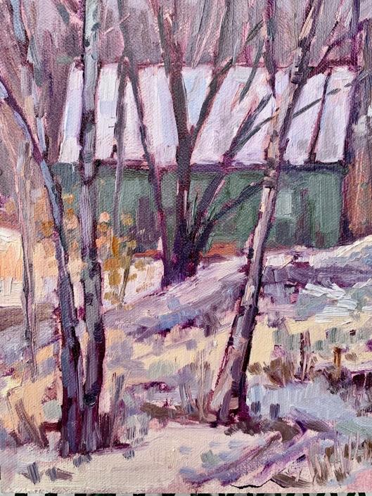 Cabin in the Woods/Melanie Barash Levitt