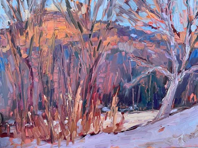 January Alpine Glow/Melanie Barash Levitt