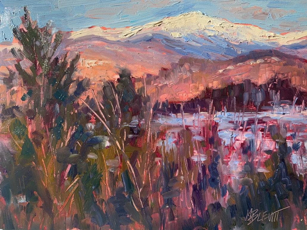 Mt Washington Glow/Melanie Levitt