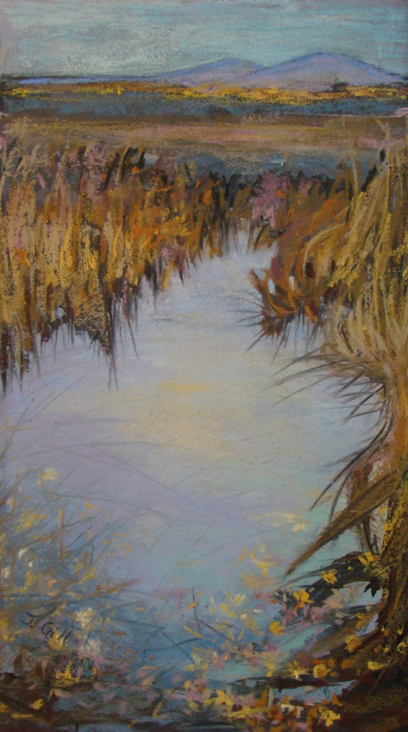 Autumn Pool /Janet Gill