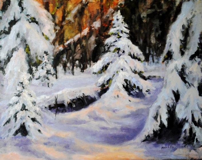 Blanket of Snow/Jessica Fligg