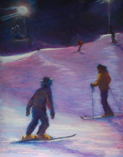 NIght Skiers 2/Terri Brooks