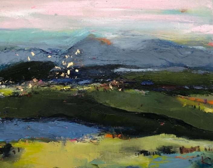 Plein air with Soft View/ Rebecca Klementovich