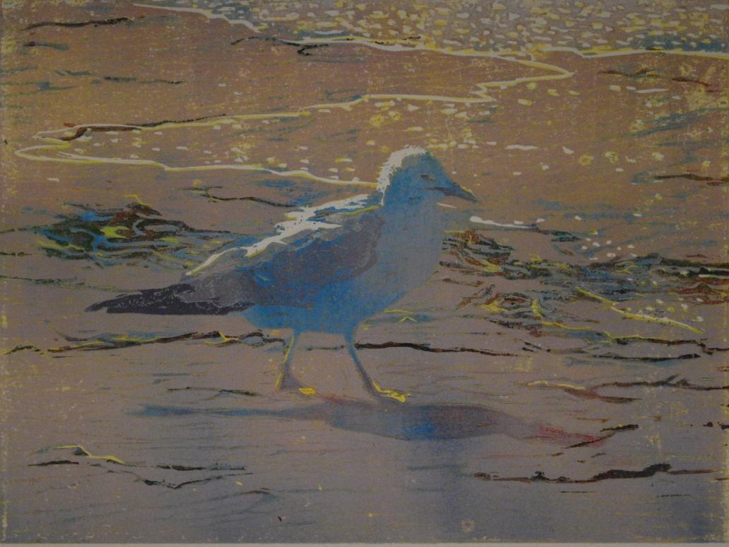 Evening Gull/ Terri Brooks